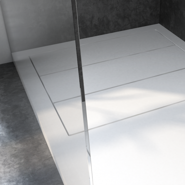 Nantes - DuPont™ Corian® Raised Shower Tray