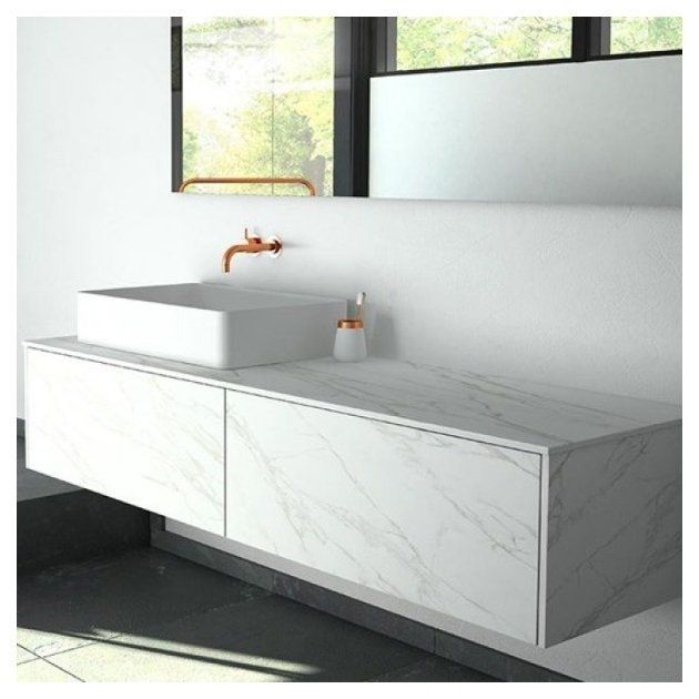 Neolith - Wall Mounted Neolith Bathroom Cabinet