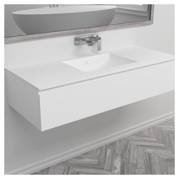 Refresh - Mobile con Lavabo in DuPont™ Corian®