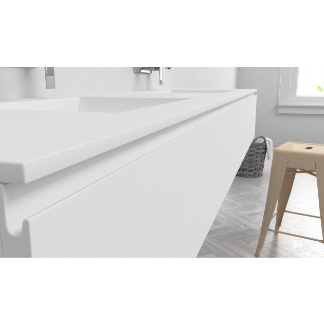Refresh - Wall Mounted DuPont™ Corian® Vanity Unit