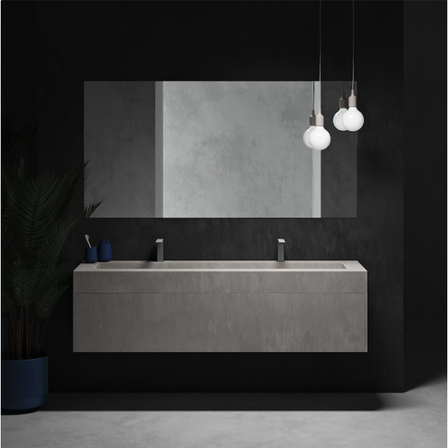 DuPont™ Corian® Colour Renaissance Wall-Mounted Vanity Unit