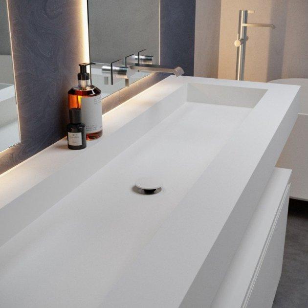 Indiana - DuPont™ Corian® Wall Mounted Washbasin