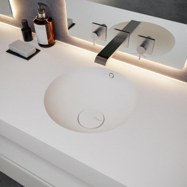 Purity - DuPont™ Corian® Wall Mounted Washbasin