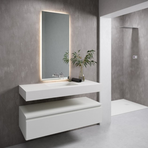 Texas - DuPont™ Corian® Wall Mounted Washbasin
