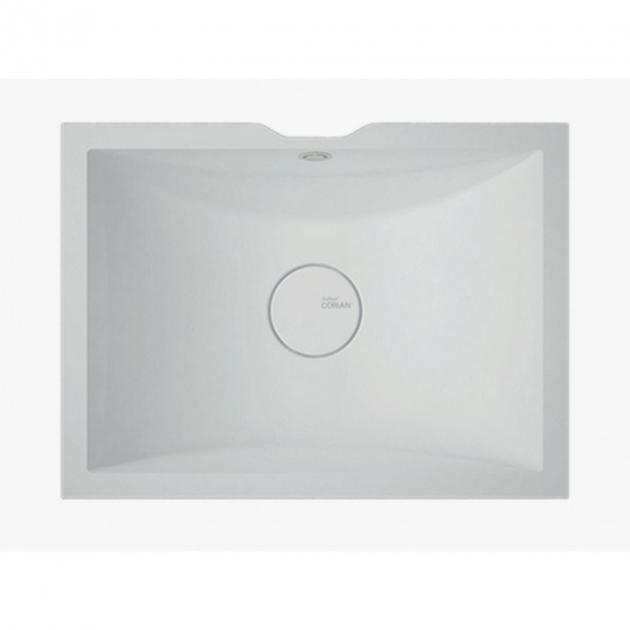 Rustic Chic - DuPont™ Corian® Wall Mounted Washbasin