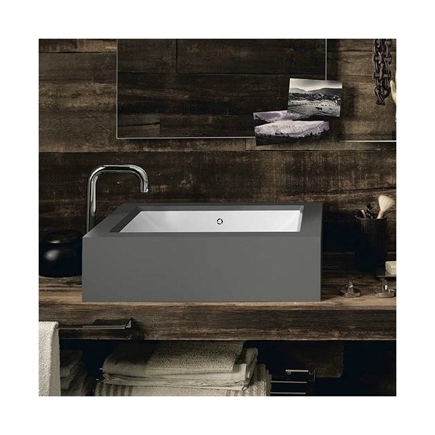 Rustic Chic - DuPont™ Corian® Wall Mounted Washbasin