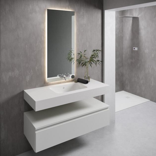Serenity 7530 - DuPont™ Corian® Wall Mounted Washbasin