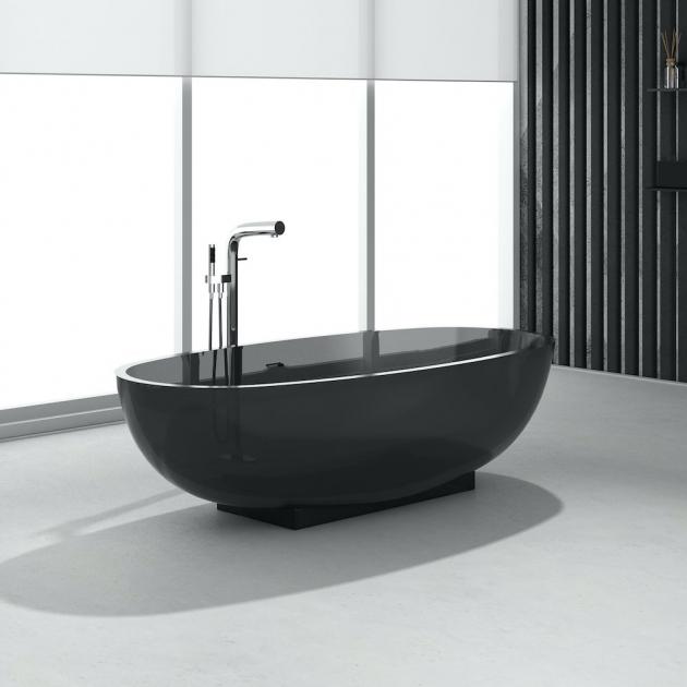 Smocky Black 170cm - Vasca da bagno indipendente in Resina