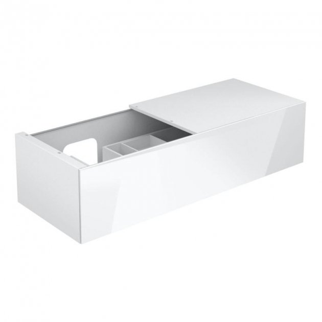 Vanity Base with 1 pull-out compartment and right side shelf Keuco Edition 11 - 31165