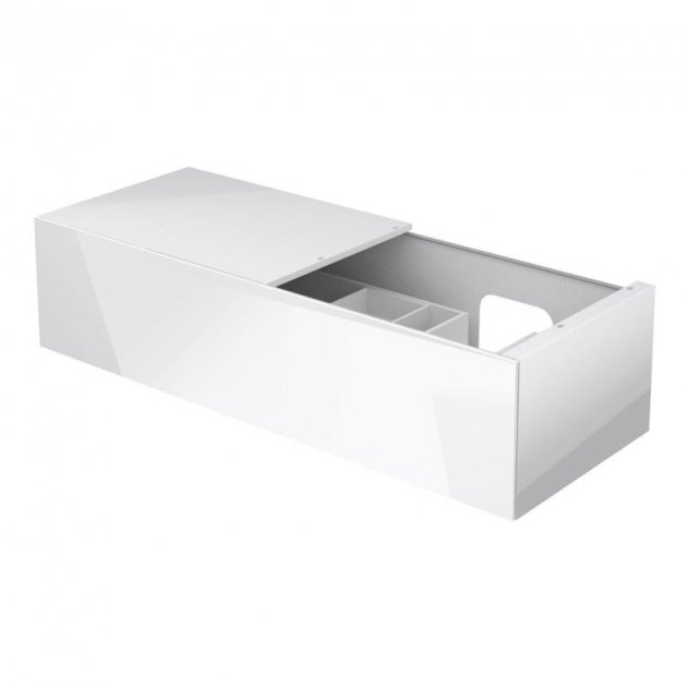 Vanity Base with 1 pull-out compartment and left side shelf Keuco Edition 11 - 31166