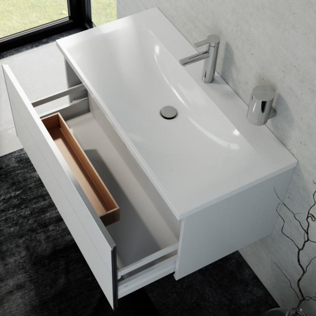 Vanity Unit with 1 pull-out compartment Keuco Royal Reflex - 39604