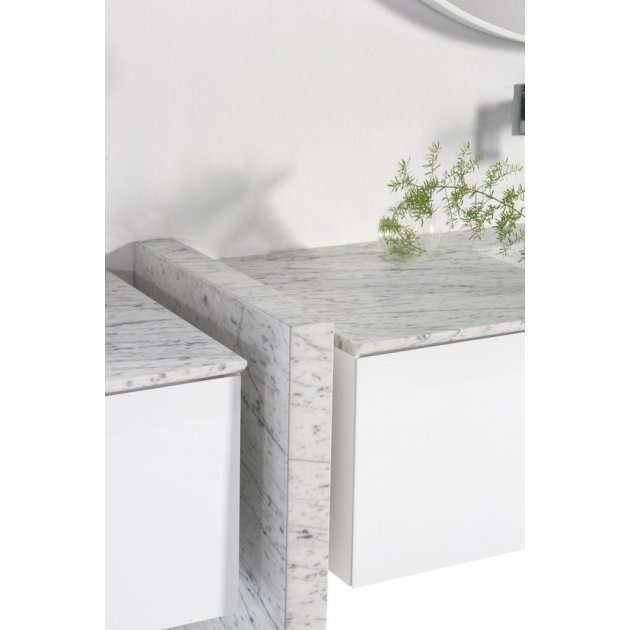 Authentic Marble Wall Mounted Vanity Unit