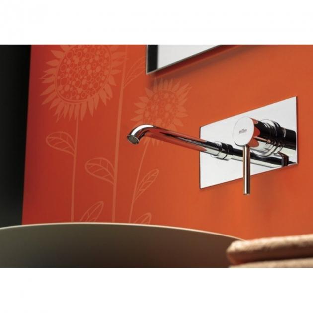 Rubinetto per Lavabo a muro monocomando - EL830606