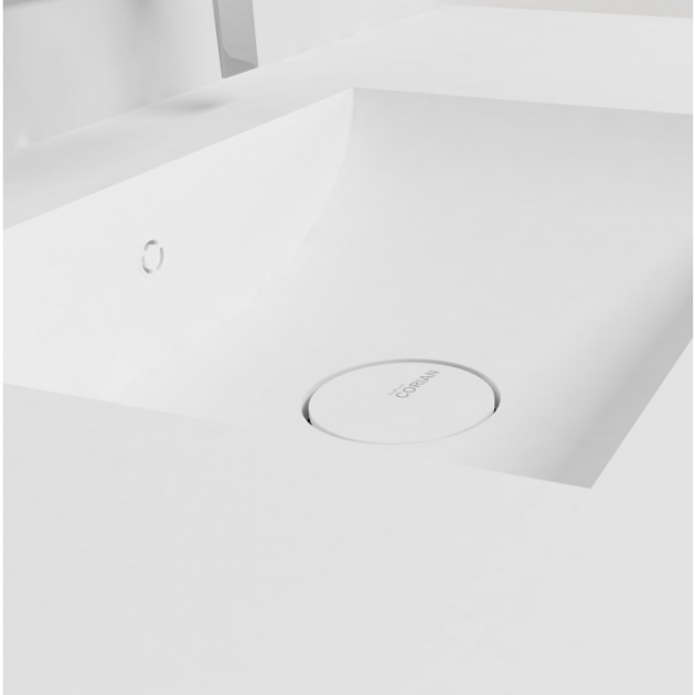 Refresh 7410 - DuPont™ Corian® Double Vanity Top - All Sizes