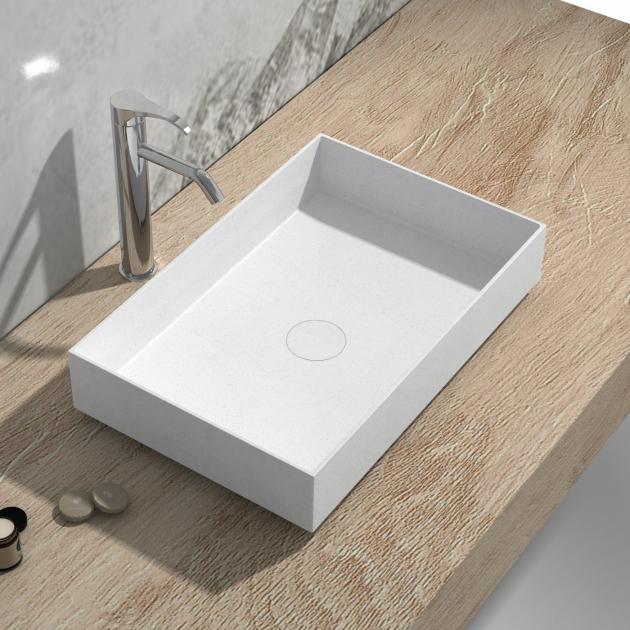 Zinnia - Solid Surface Countertop Washbasin