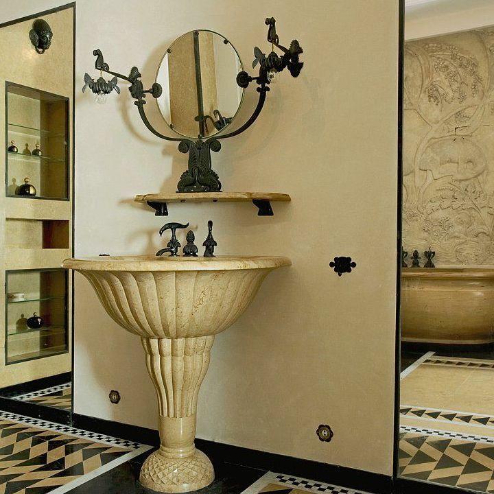 Creating an Art Deco inspired bathroom