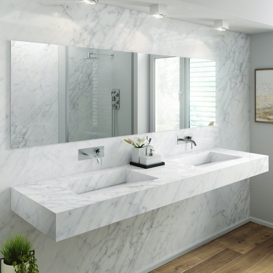 How to clean marble bathrooms in 5 easy steps
