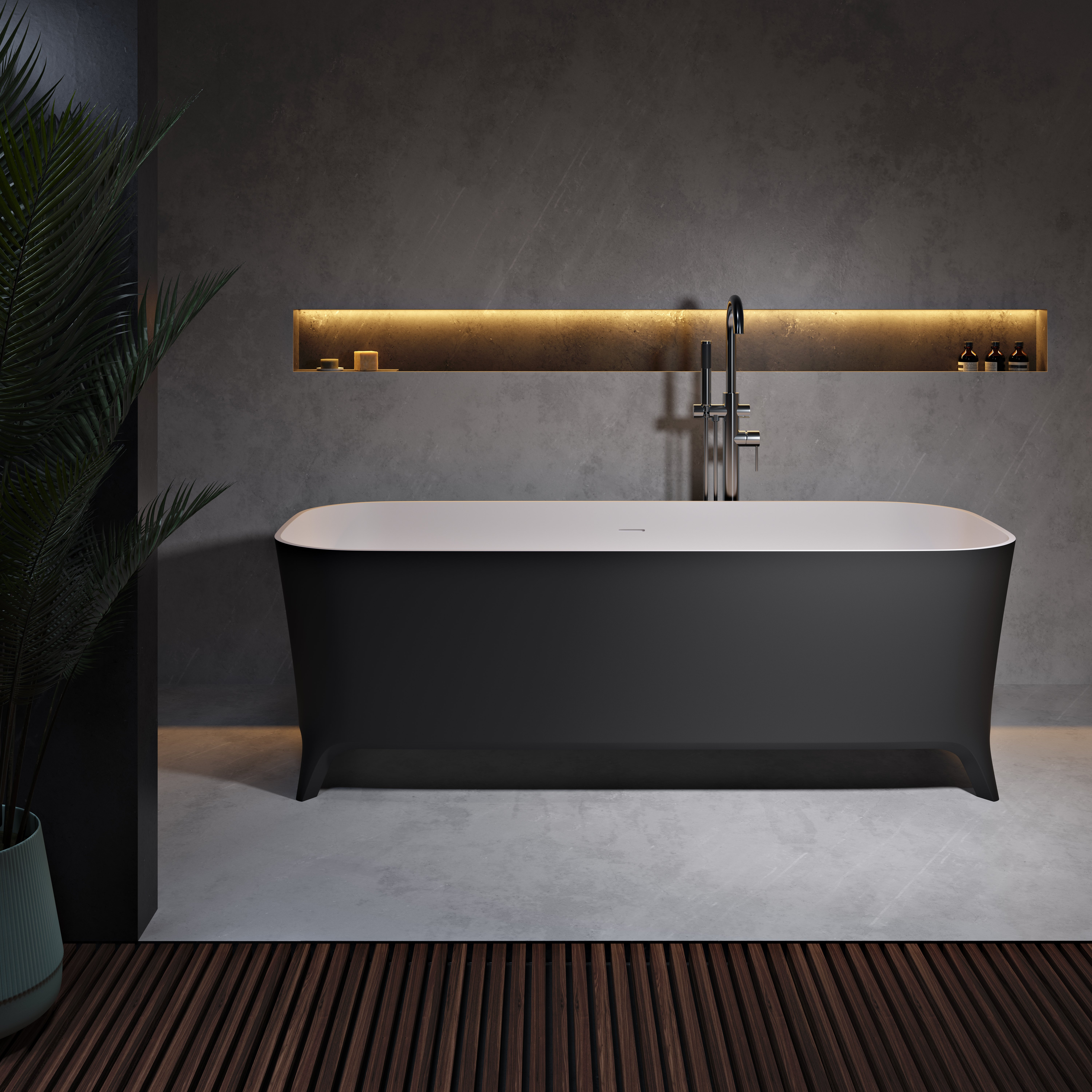 Introducing Lofty Black: our Archiproducts Design Award nominated bathtub