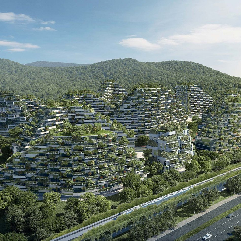 Absorbed by nature: architecture that blurs distinctions between the outdoors and the built environment