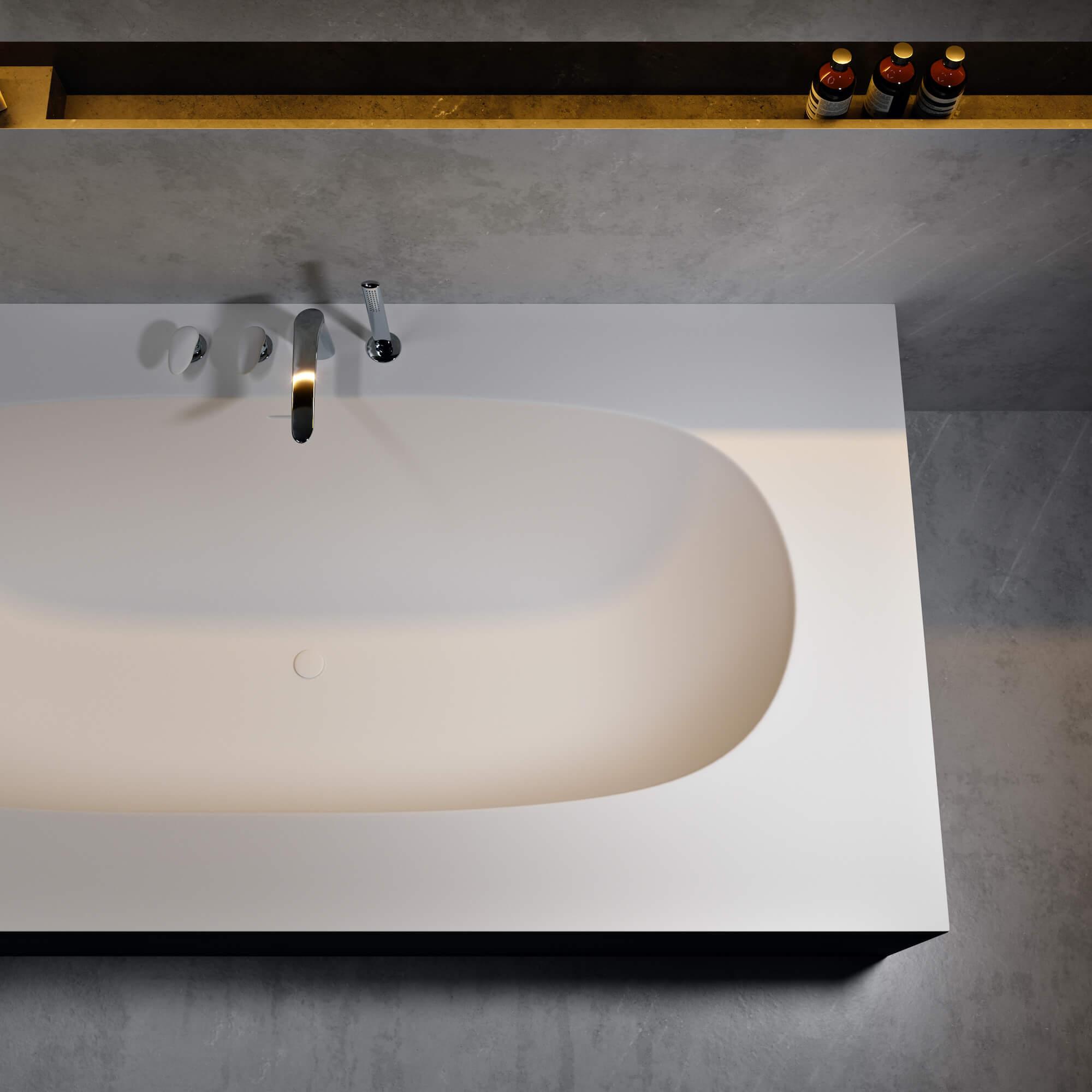 corian bathtubs