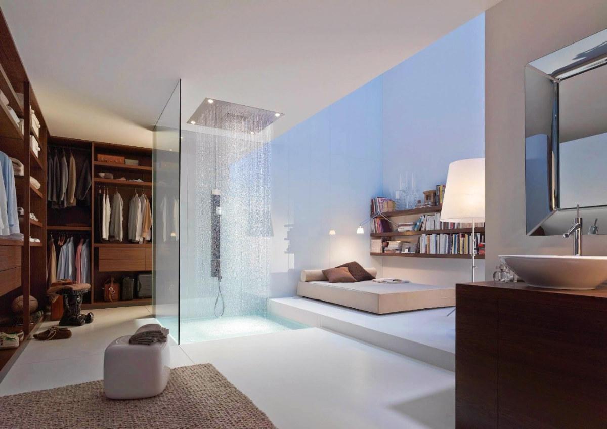 Open Concept Bedroom And Bathroom 2021 S Hottest Interior Design Trend