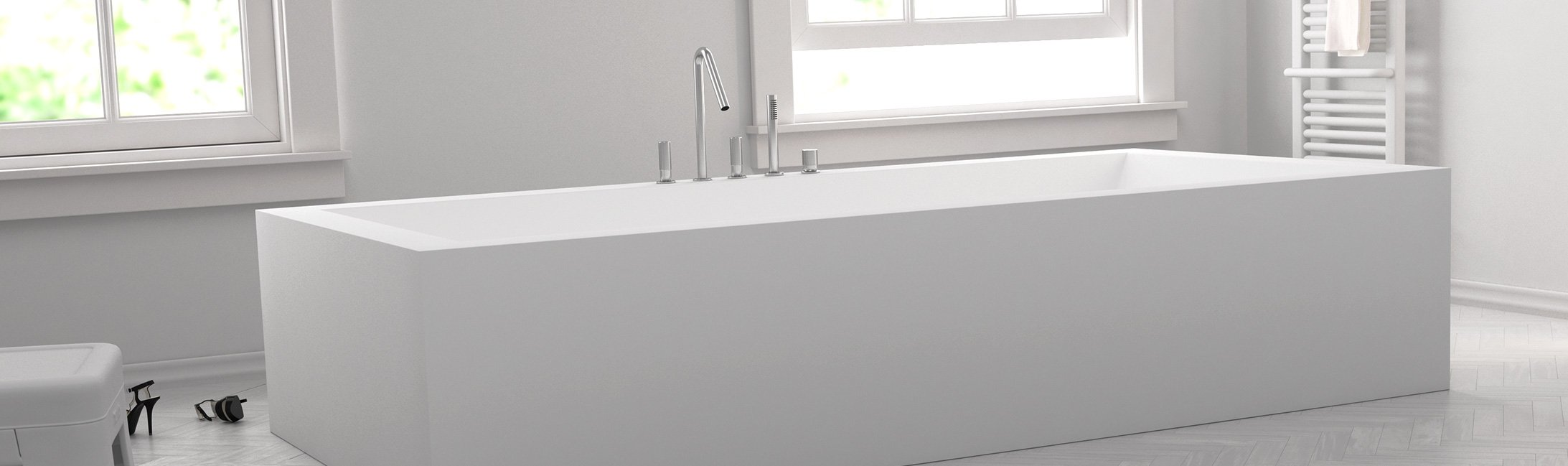 baignoire design ilot trendy baignoire ilot petite taille. Black Bedroom Furniture Sets. Home Design Ideas