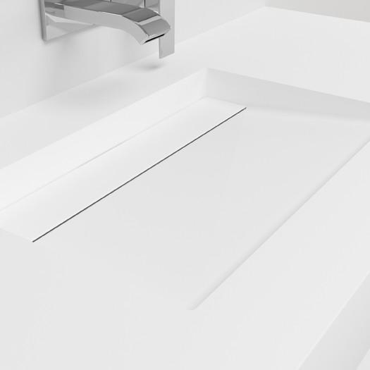 Plan Vasque en Corian® Alabama