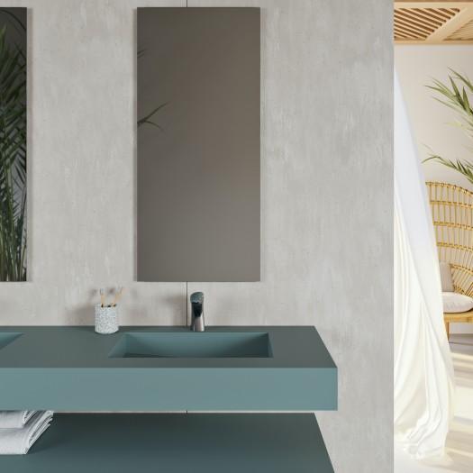 Vasque Area en Corian® Colour Verdant
