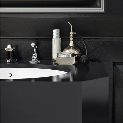 Vasque en Corian® Contemporary Black