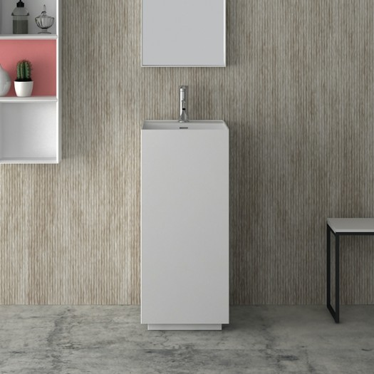 Lavabo colonne Bliss en Solid Surface