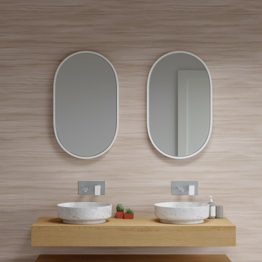 Miroir Cloud en Solid Surface