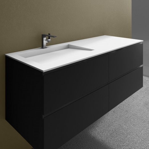 vasque en corian le luxe riluxa pour votre salle de bain. Black Bedroom Furniture Sets. Home Design Ideas