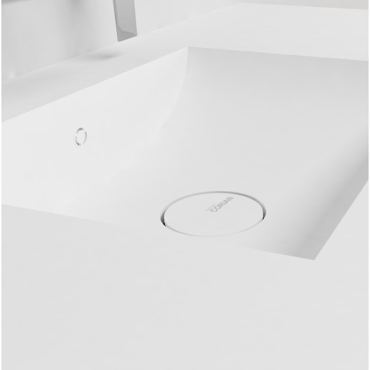 Plan Vasque en Corian® Refresh