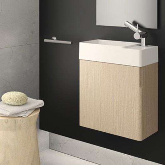 Meuble avec lavabo 1 porte ou 2 portes COSMIC