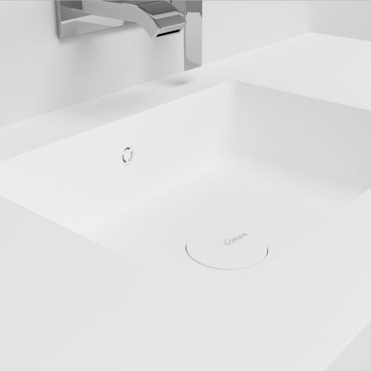 Plan Vasque en Corian® Energy