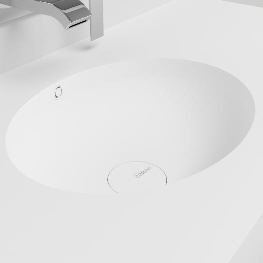 Plan Vasque en Corian® Relax