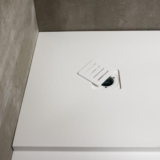 Receveur de douche Munich en Corian® 90x90cm