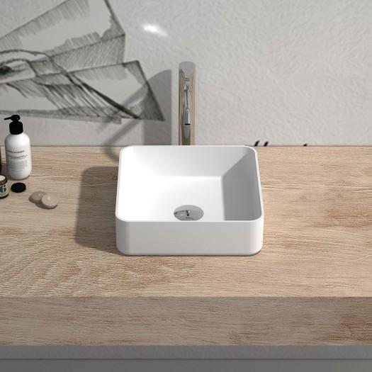 Vasque à poser en Solid Surface Enera