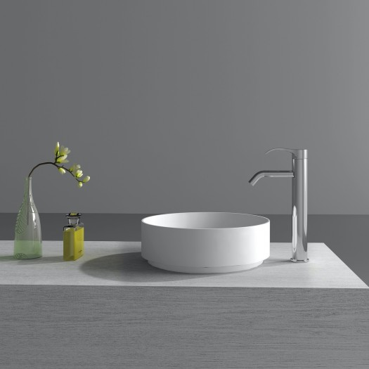 Lavabo à poser Grenoble en Solid Surface