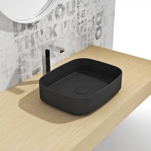 Vasque à poser en Solid Surface Marigold Black