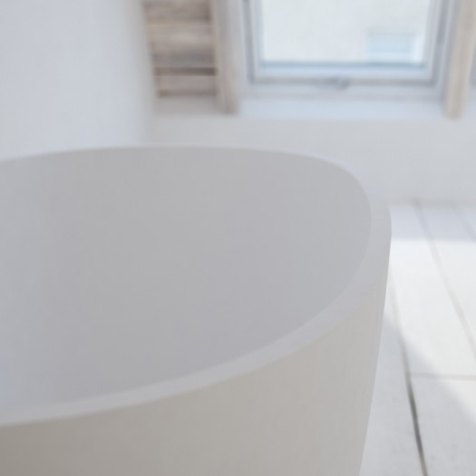 Baignoire Ilot Nantes Mini Solid Surface