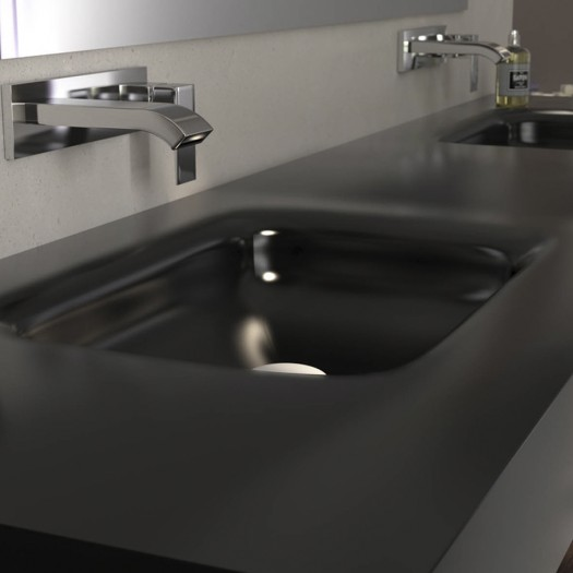 DOUBLE VASQUE CORIAN® DEEP NOCTURNE Nevada