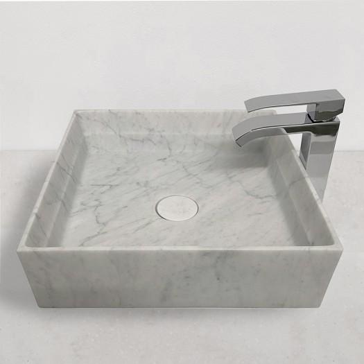 Lavabo à poser en Marbre Carrara P3