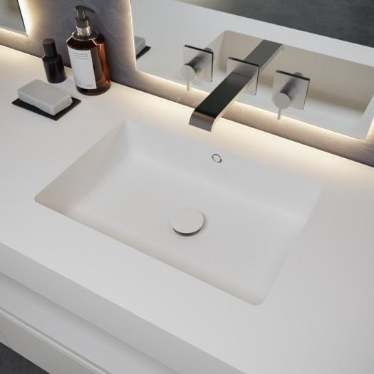 Plan Vasque en Corian® Quiet