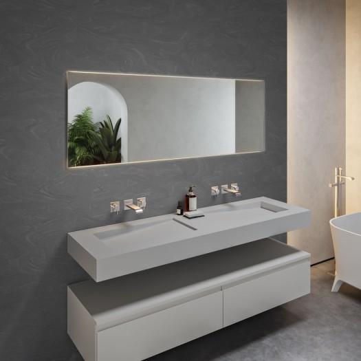 Double Vasque en Corian® Silver Gray Canada