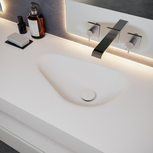 Double vasque en Corian® Phoenix