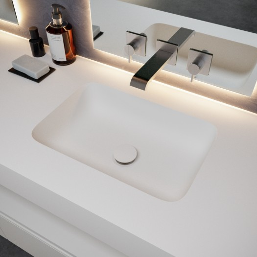 Double vasque en Corian® Toronto