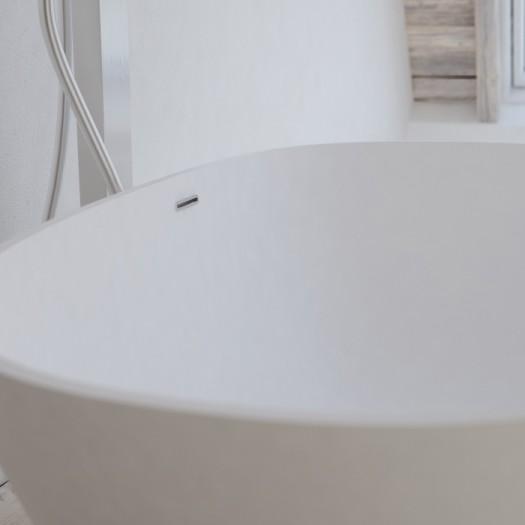 Baignoire Ilot Toulouse en Solid Surface 160cm