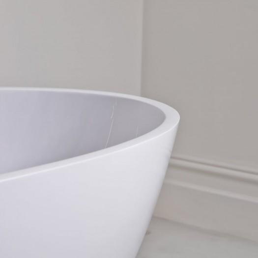 Baignoire Ilot Toulouse en Solid Surface 178cm