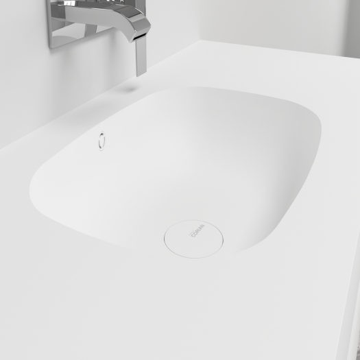 Plan Vasque en Corian® Peace